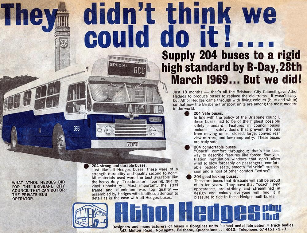 Brisbane's Leyland Panthers – Queensland Omnibus & Coach